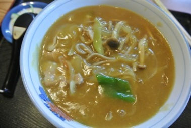 pic Hot Soba in Curry Soup