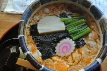 pic Hot Soba with Beaten Egg