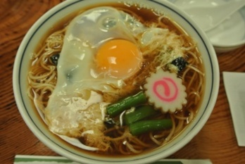 pic Hot Soba with a Raw Egg