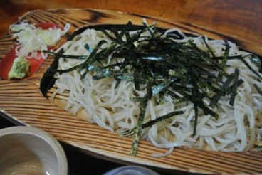 pic Plain Soba topped with Nori