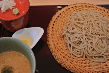 pic Soba with Japanese Yam