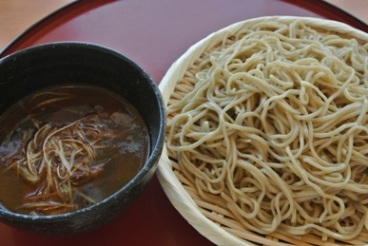 pic Soba with Wild Duck